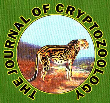 Cover of Journal of CryptozoologySource Darren Naish