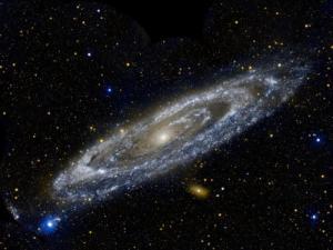 The Andromeda Galaxy. (Credit: GALEX, JPL-Caltech, NASA)