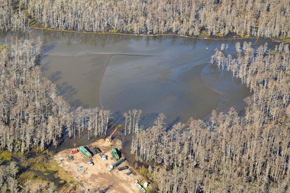 Bayou Corne Sinkhole 12/21/12  Source: Leanweb.org