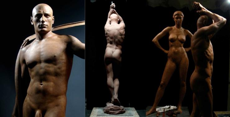 Brian Booth Craig sculptures