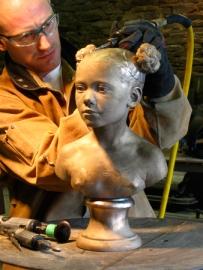 Sculptor Brian Booth Craig