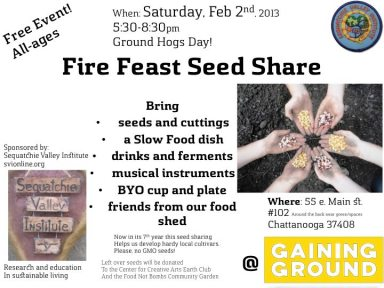 Fire Feast Seed Share