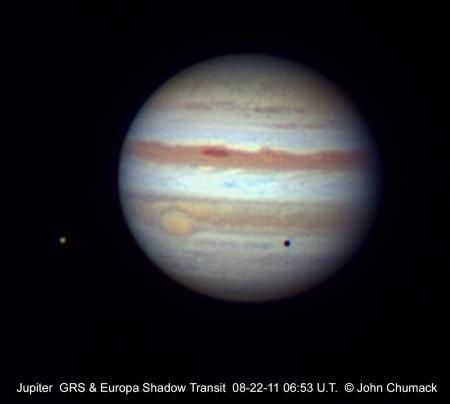 """JupiterEuropaShadow""Source: Astronomytoday.com"
