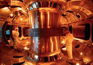 """The K-STAR nuclear fusion reactor, in Daejeon, South Korea, will be succeeded by a larger, more ambitious project.""-Nature.comEPA/CORBIS"