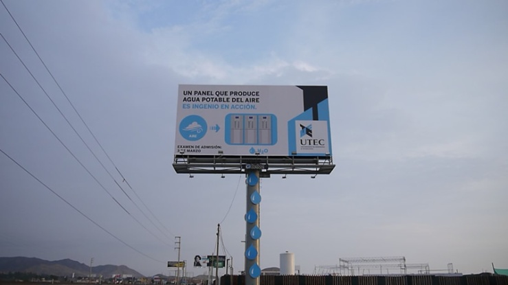 Lima billboardSource: Phys.org