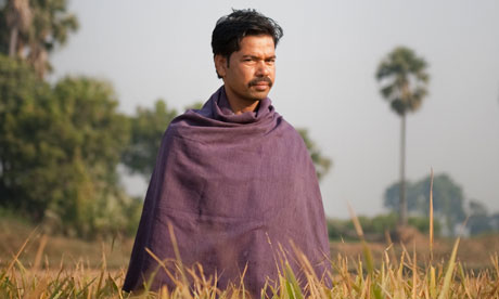 Sumant Kumar photographed in Darveshpura, Bihar, India. Photograph: Chiara Goia for Observer Food MonthlySource: The Guardian