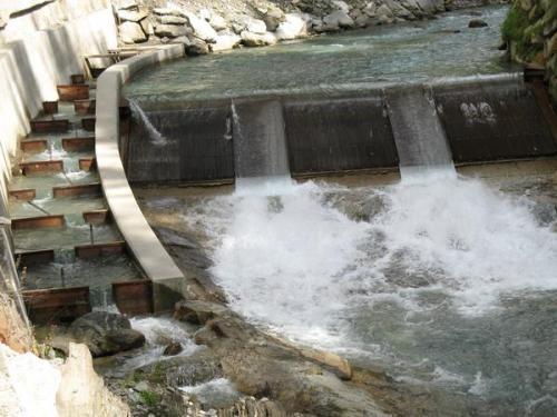 """""""Small hydropower plant built in 2011 on Aurino river, Aurina valley, Bolzano, Italy.""""  Credit: Agenzia Ambiente - Ufficio tutela Acque della Provincia di Bolzano Source: Phys.org"""