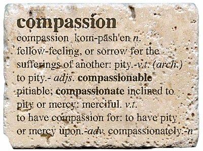 Definition of Compassion Source: Aquariusteachings.com