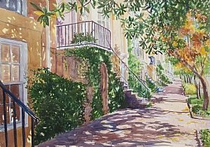 Watercolor painting by Durinda Cheek