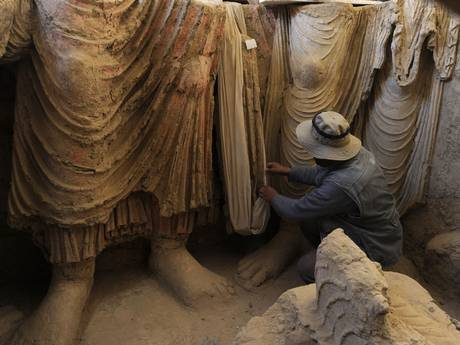 National Heritage photo Mes Aynak site Source: Independent.co.uk