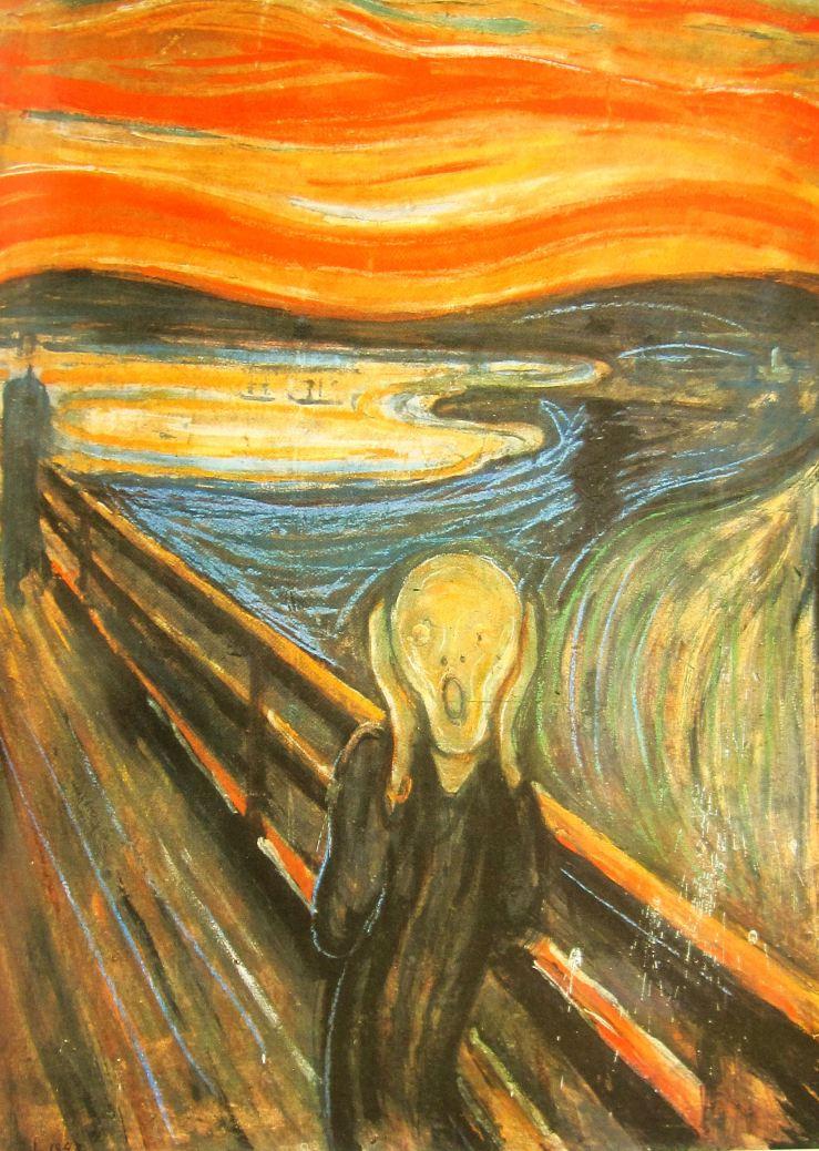 """The Scream"" Source: ChasingArt.com"