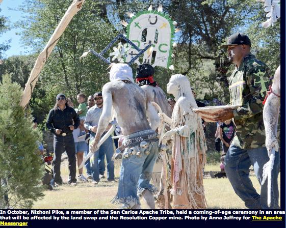 Apache lands